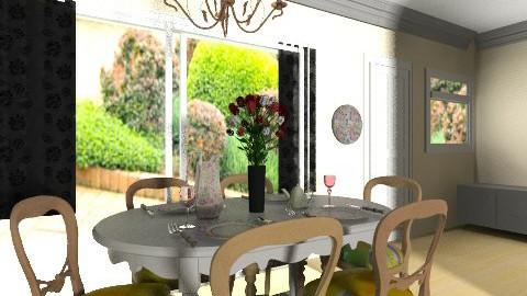 dining room final_____4 - Dining room - by bellabravis