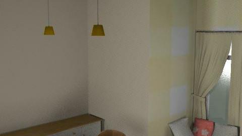 pink/yellow kitchen - Classic - Kitchen - by hwarren7