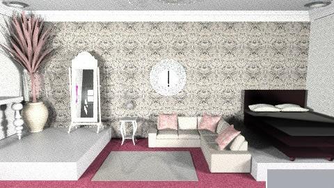 Ty Warner - Glamour - Bedroom - by eileen tenuise