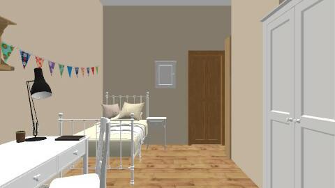 my own room - Minimal - Bedroom - by bethris