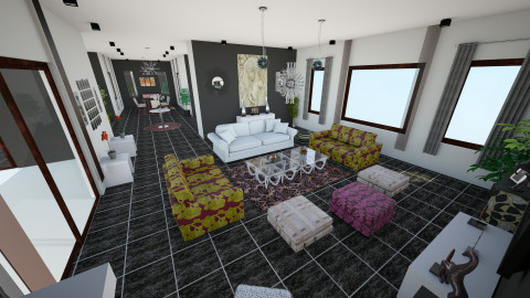 new - Living room - by _one_only_