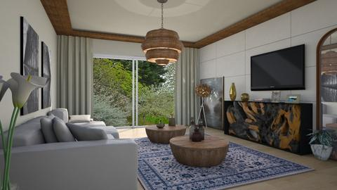 Com Madeira - Living room - by Alecio