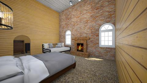 the couse aka cool house - Bedroom - by dclark23
