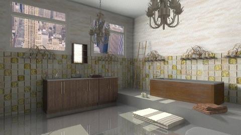 bathroom - Rustic - Bathroom - by JelenaS