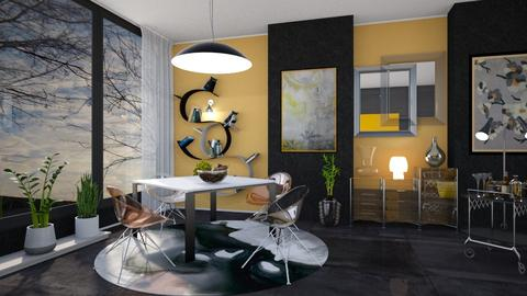 M_ Transparent - Modern - Dining room - by milyca8
