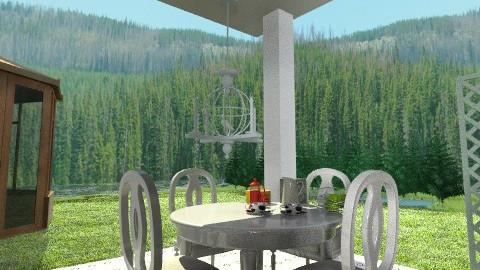 Lovely Breakfast - Rustic - Garden - by beabiabolhas