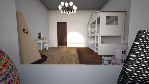 Window seat bedroom - Kids room - by abvictw