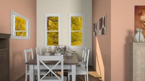 Dining Room One - Feminine - Dining room - by Kelzoid