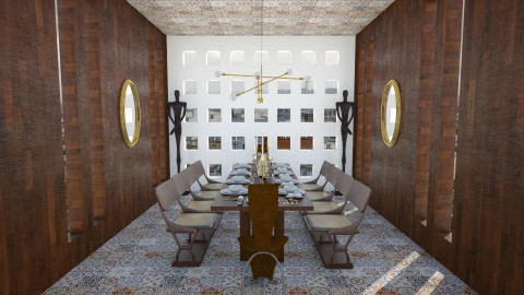 CC17 01 salle a manger - Dining room - by frd