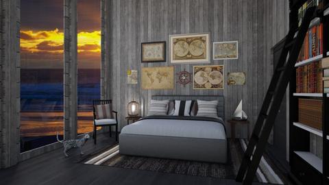 Nautical Bedroom - Bedroom - by amyskouson