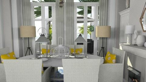 SUMMER VILL - Country - Living room - by naki1