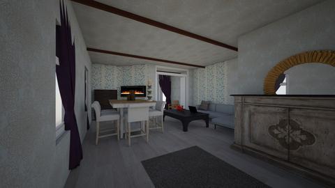 i kia leaving room 3 - Living room - by Omar Osama