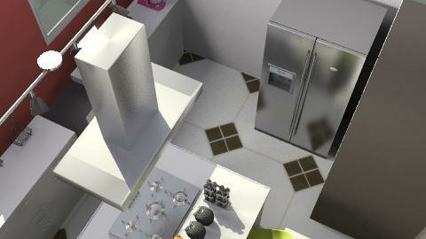 fukitchen - Glamour - Kitchen - by bettamarchegiano