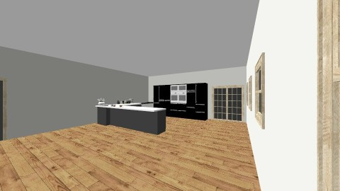Living room and kitchen - Modern - Living room - by Andrea Puspa Melinda