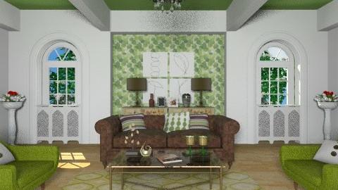 Balance - Vintage - Living room - by chloedaniella