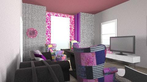 Vintage PLUS Modern Den - Retro - Living room - by elprisoner