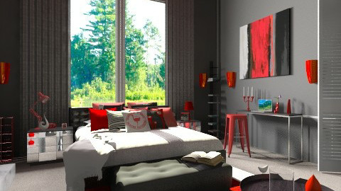 Spicy - Eclectic - Bedroom - by idesine