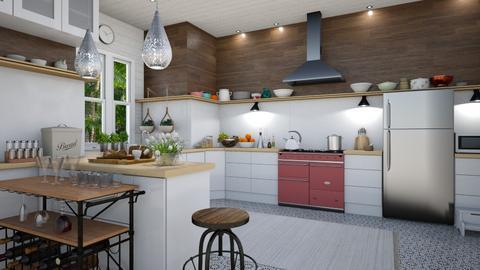 EKitchen - Kitchen - by rickglassinteriors