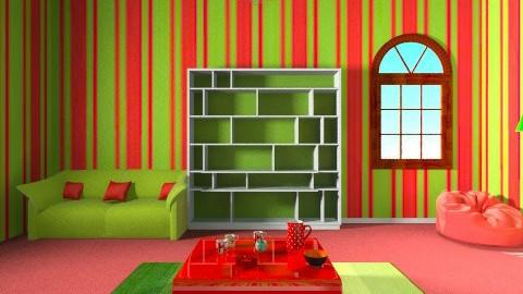 green  - by Ellieando