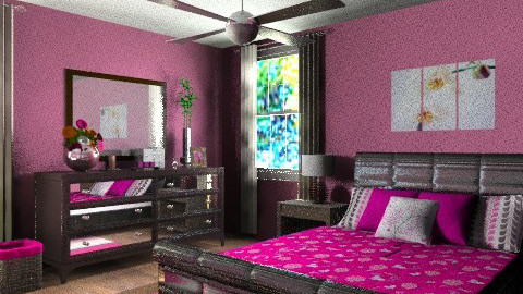 Apartment master bedroom - Eclectic - Bedroom - by alleypea