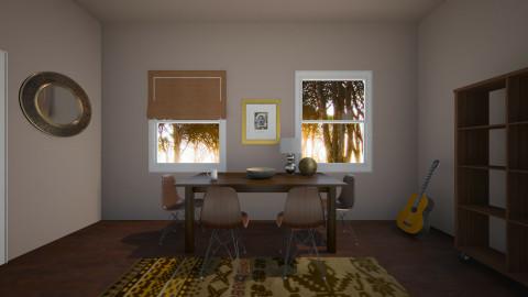 brownn - Rustic - Living room - by franciss
