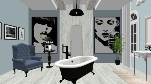 Industrial - Vintage - Bathroom - by sluciasantana