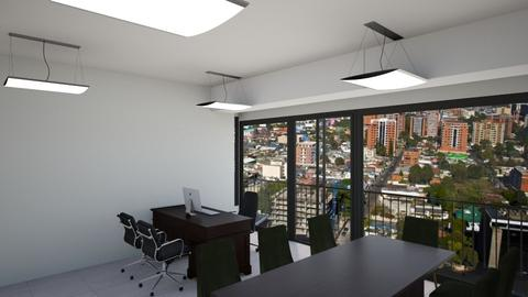 oficina zona 09 Guatemala - by wuayman