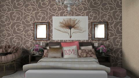 chokolate - Glamour - Bedroom - by chania