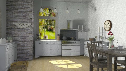 Old - Classic - Kitchen - by Emike