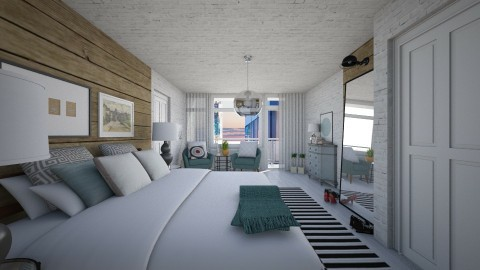 Bedroom redesign - Modern - Bedroom - by Lucii