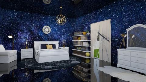 Milky Way Room - Bedroom - by zizzy