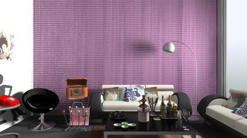 Jimi Fondue Party retro - Retro - Living room - by devonsia