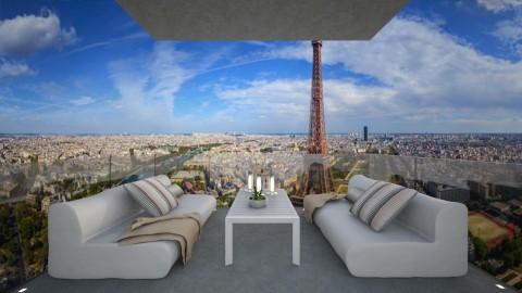 Casa143Balcony - Modern - Garden - by nickynunes