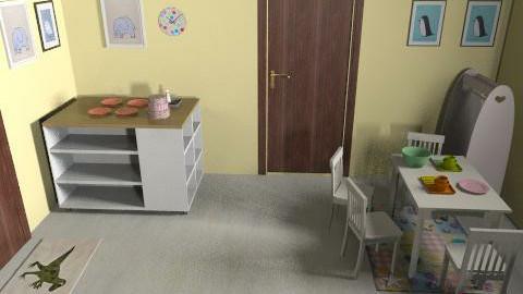 ici daycare v3k - Vintage - Kids room - by mehar