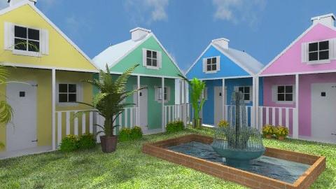 Beach Cottage Resort - by wiljun