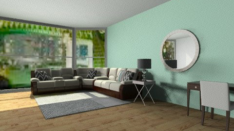a taste of mint - Living room - by 2f5fe43g