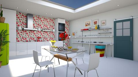roof kitchen - Dining room - by BortikZemec