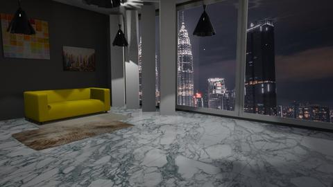 Elegance  - Glamour - Living room - by hivek93