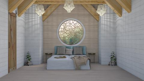 attic space  - Rustic - Bedroom - by NEVERQUITDESIGNIT