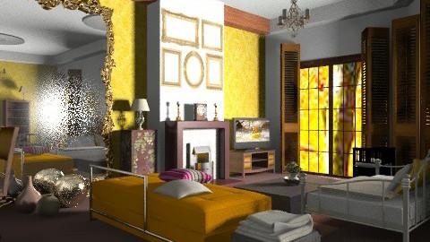 Tanimbar & friends - Vintage - Living room - by mrschicken