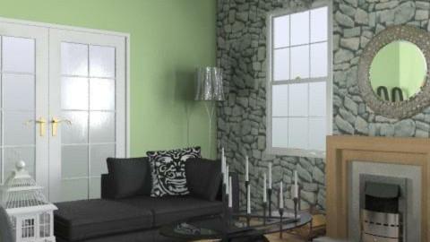 1st living room - Living room - by designluvr