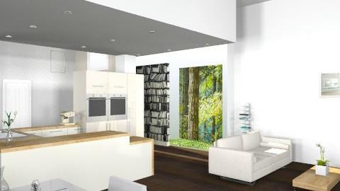House - Minimal - Living room - by Artdecoheart