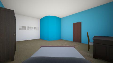 sophmore bedroom - Bedroom - by kmvbird