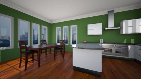 entry - Minimal - Kitchen - by Rusty Fetterov