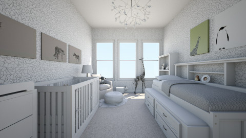 baby - Minimal - Kids room - by nataliaMSG