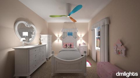 PrincessQuarters - Glamour - Kids room - by DMLights-user-1038281