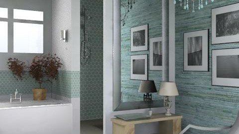 FL Bungalow - Ensuite - Classic - Bathroom - by LizyD