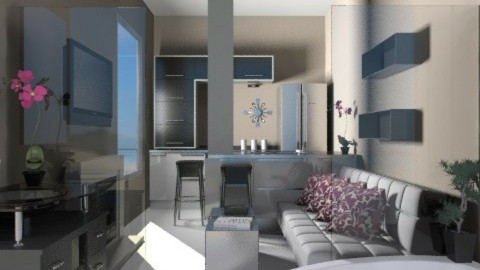 Tiny Elegance - Eclectic - Living room - by channing4