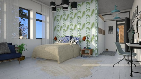 Bedroom - Eclectic - Bedroom - by evahassing
