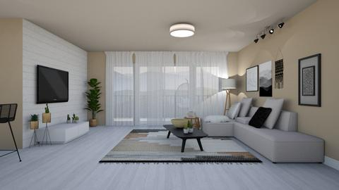 241 - Living room - by Riki Bahar Elbaz